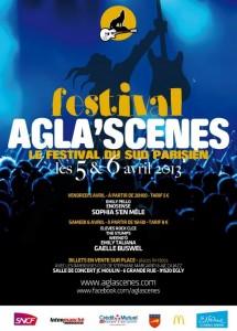 Festival Agla'scenes 5 et 6 avril 2013