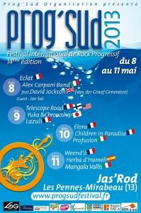 Festival Prog Sud 2013