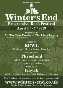 Winter's End Prog Festival Wales